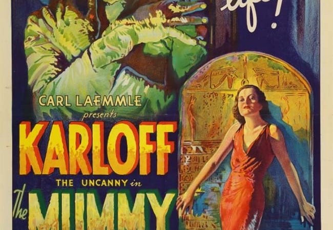 This Rare 'Mummy' Poster Could Fetch A Record $1.5 Million