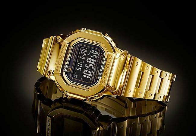 Casio G-Shock G-D5000-9JR In 18K Gold Will Set You Back $69,500