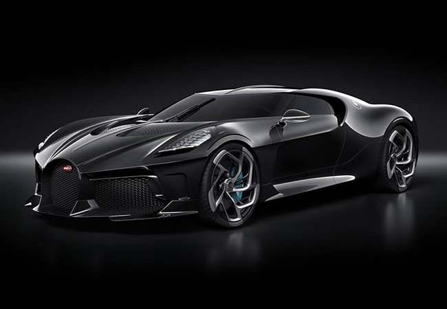 Bugatti La Voiture Noire Is A $12.5 Million One-Off Hypercar