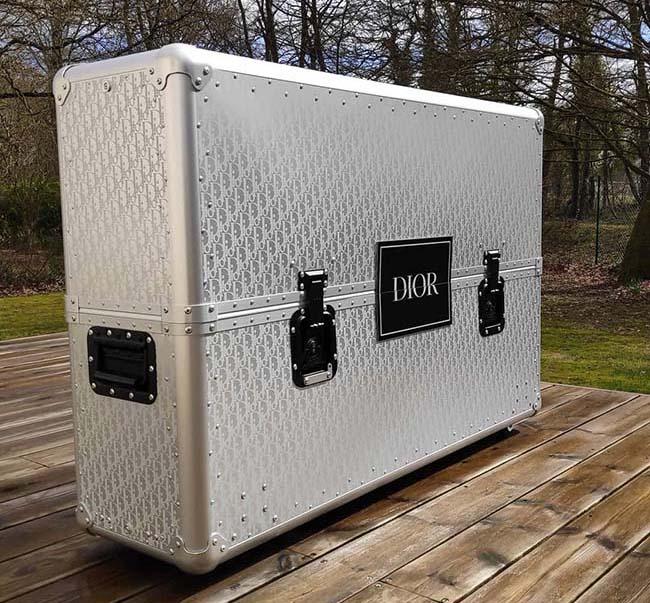 Dior Bogarde BMX aluminum packaging