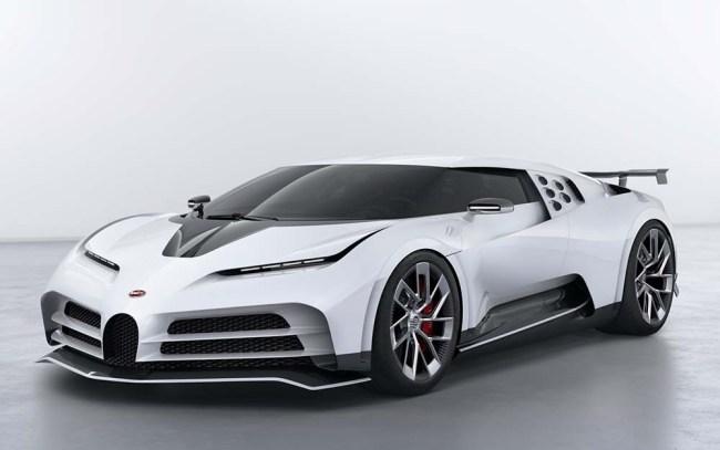 Bugatti Centodieci Honors The Classic EB110