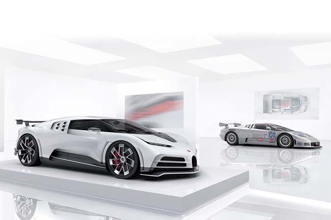 Bugatti Centodieci vs Classic EB110