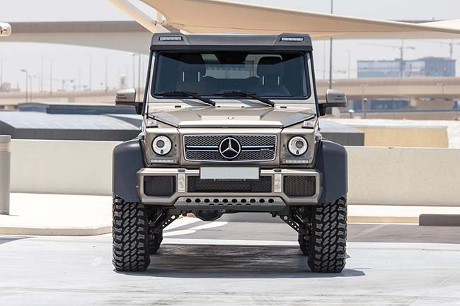 This Impressive Mercedes-Benz G63 AMG 6×6 Could Be Yours