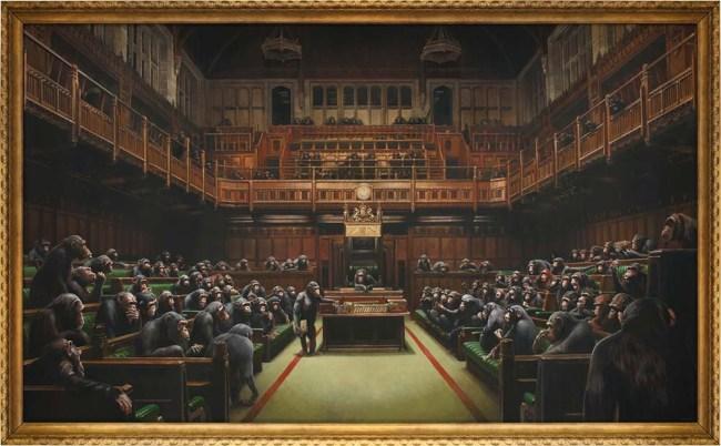 Banksy Devolved Parliament