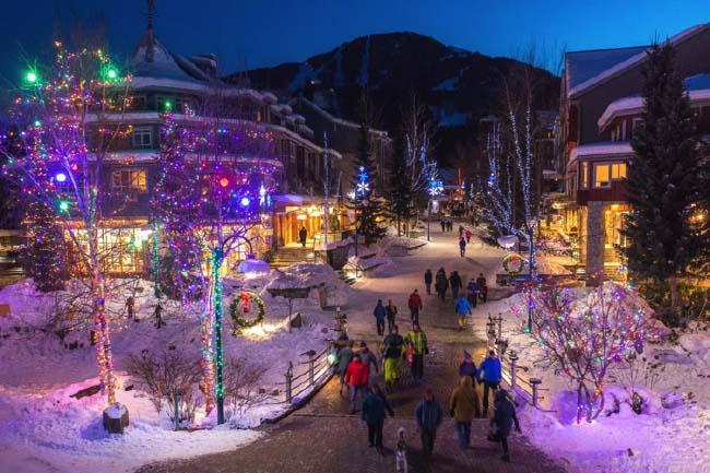 Destinations de ski de luxe