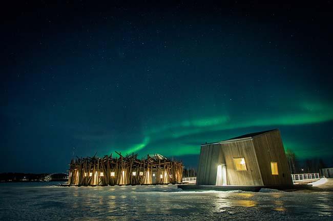 Arctic Bath Hotel Northern Lights