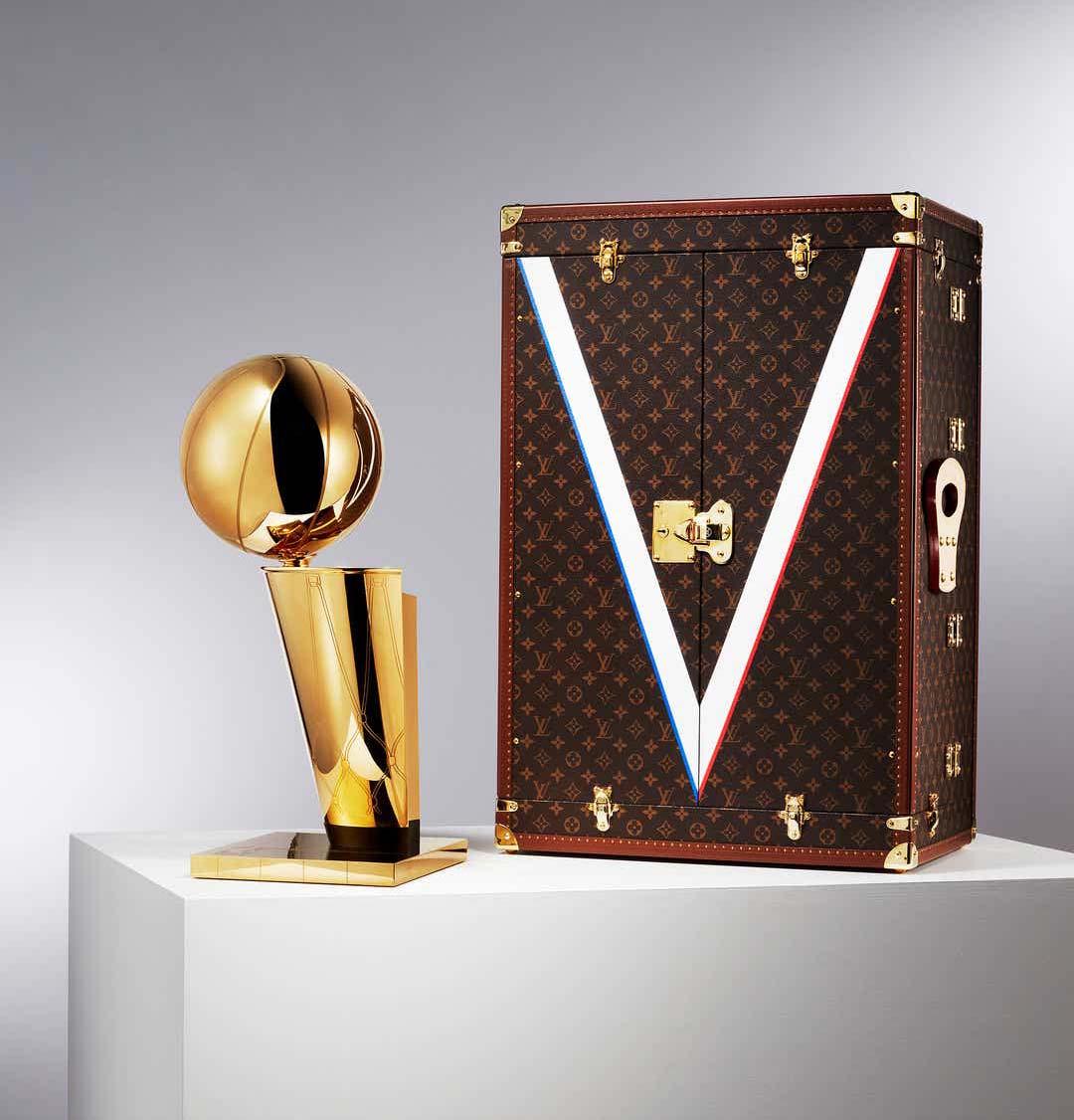 Louis Vuitton NBA Trophy Trunk Case