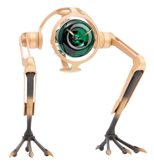 MB&F x L'Epée x Massena Lab T-Rex Bronze Clock