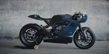 Deus x Zero SR/S Electric Motorcycle