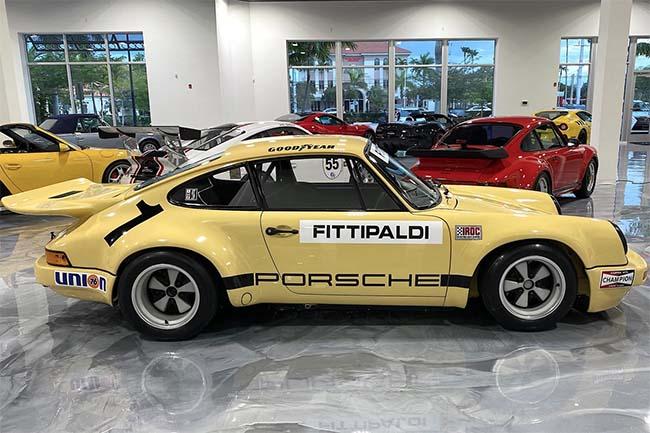 Pablo Escobar's 1974 Porsche 911 RSR
