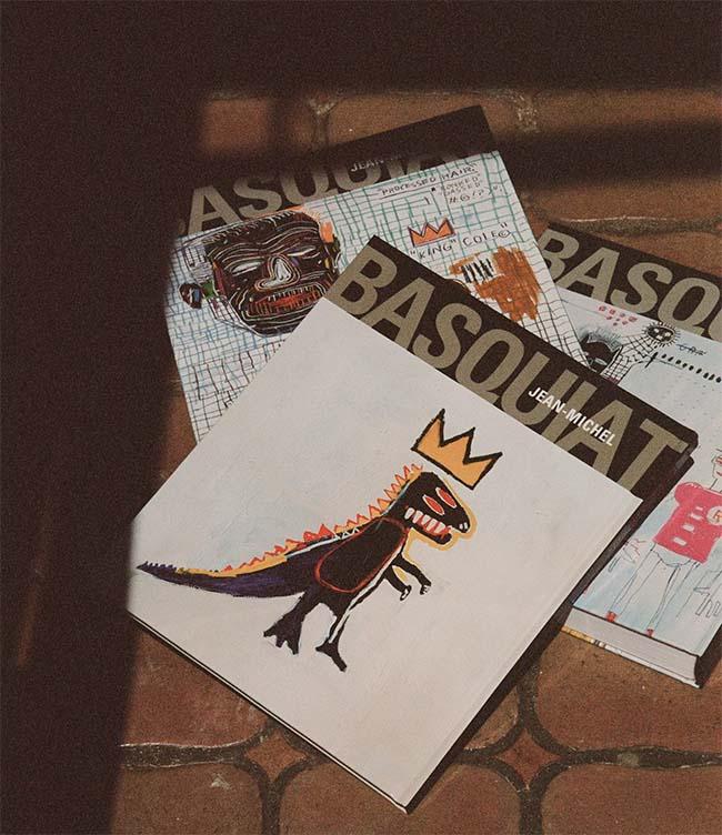 Saint Laurent Rive Droite X Jean-Michel Basquiat
