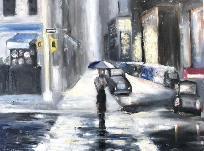 Rain in Soho, 2020 — Cindy Shaoul