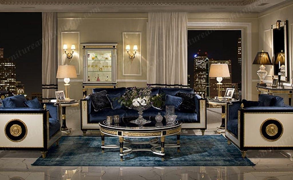 European Living Room   Impero   Luxury Furniture & Lighting