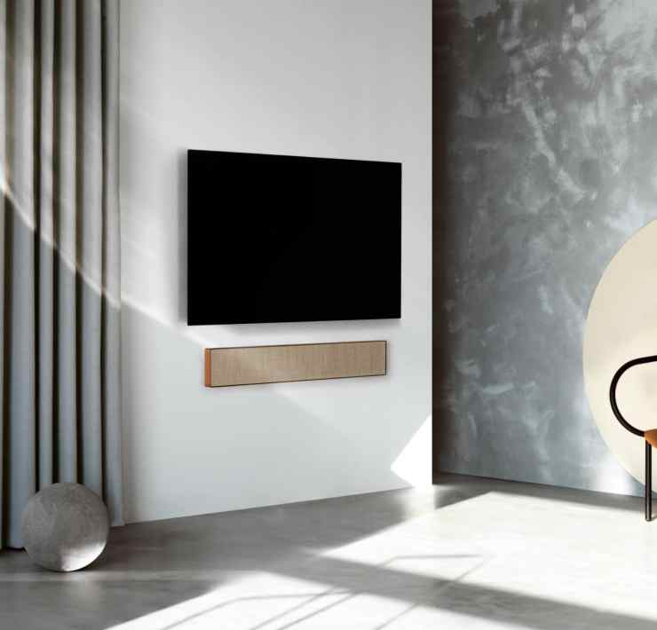 Beosound stage Dolby Atmos soundbar Starting at $1,750