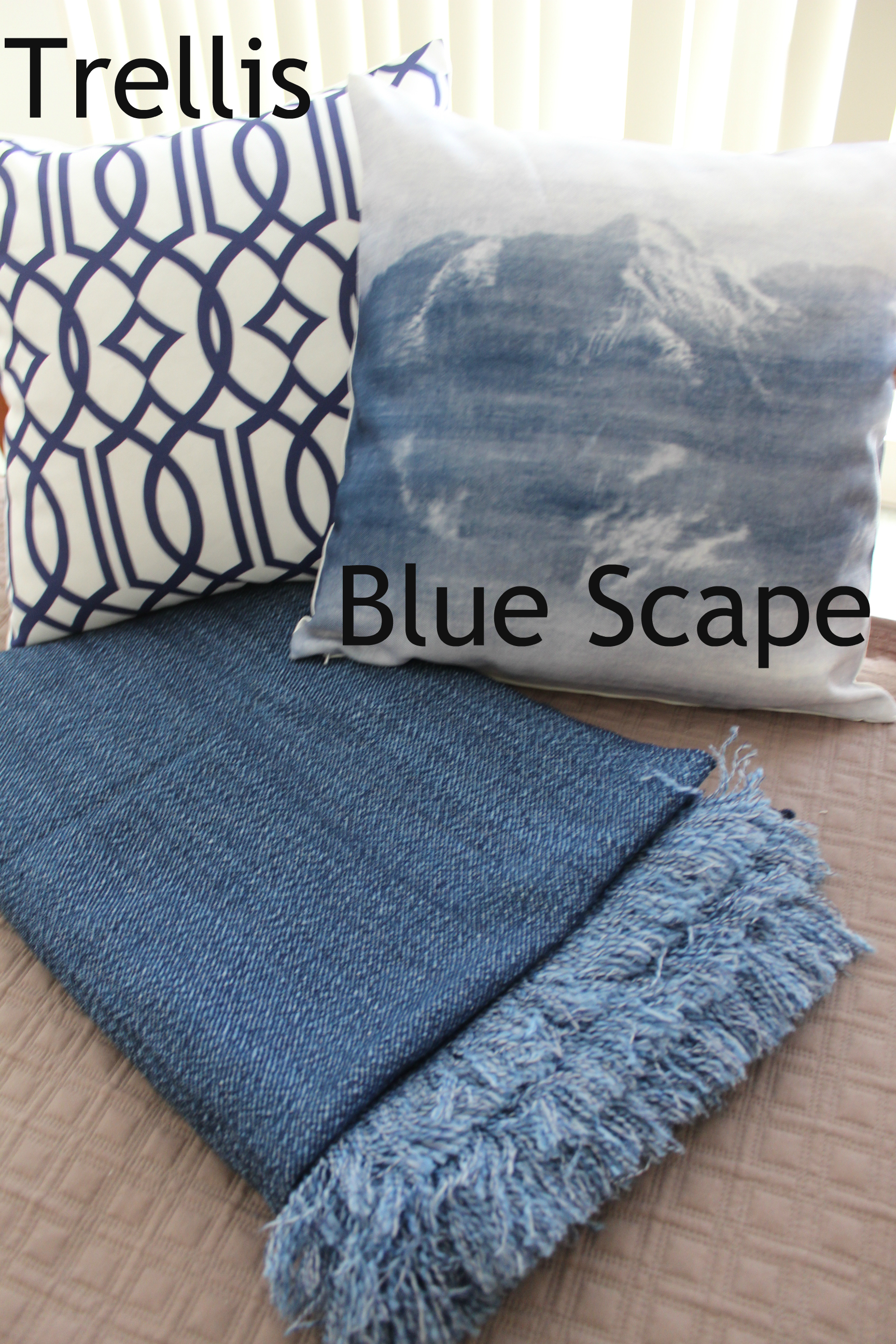cotton sofa covers india colorful living room sets blue throw: denim throw, bed or rug soft throw ...