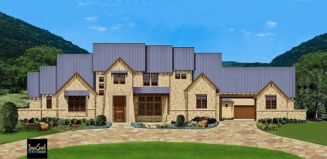 Texas Hill Country Plan 7500