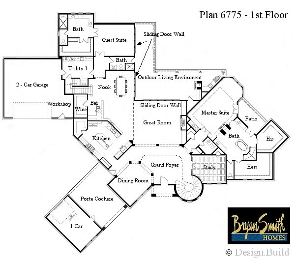 million dollar home plans floor plans | ifmore
