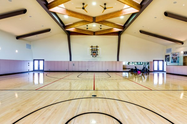 Luxury Homes with Indoor Basketball Court