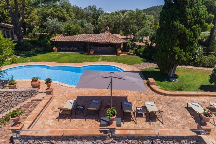 Exquisite Villa In Monte Argentario Tuscany With Sea Views