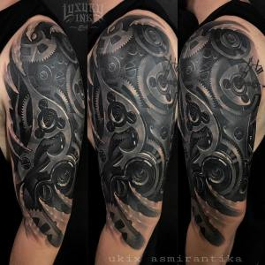 Luxury Ink Bali Tattoo Gallery Biomechanical Style103