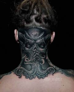 Luxury Ink Bali Tattoo Gallery Biomechanical Style110