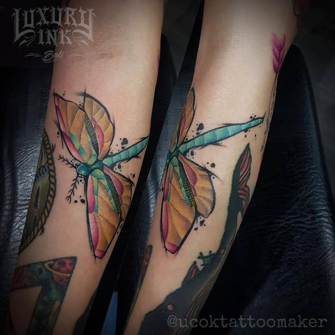 Luxury Ink Bali Tattoo Gallery Watercolor style107