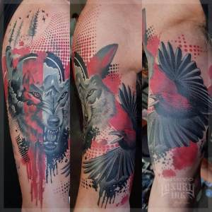 Luxury Ink Bali Tattoo Gallery Watercolor style111