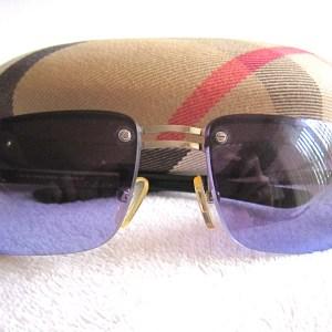 Burberry By Safilo Purple Sunglasses