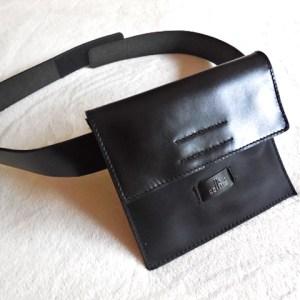 Cellini Black Waist Bag
