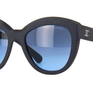 Chanel DK Blue Precious Butterfly Sunglasses