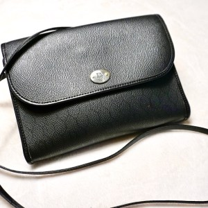Christian Dior Vintage Black Crossbody Bag