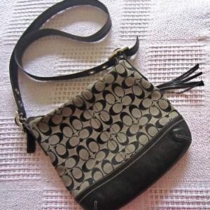 Coach Monogram Messenger Bag