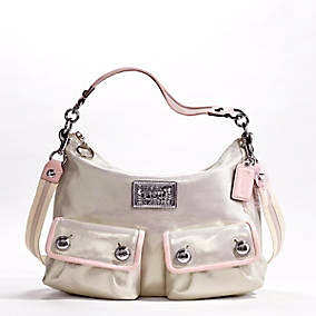 Coach Poppy Sparkle Hobo Bag