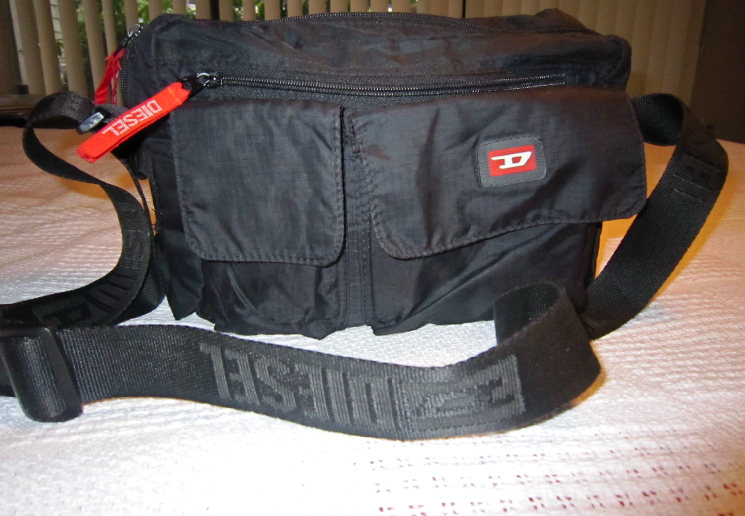f09f0983f Diesel Messenger Bag - Luxurylana Boutique