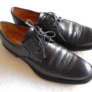 Duccio Del Duca Milano Black Leather Oxford Shoes