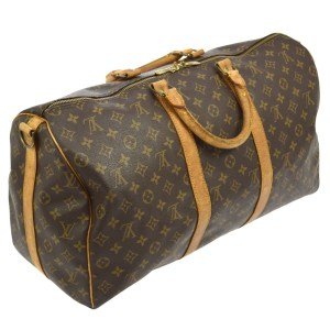 Louis Vuitton Monogram Keepall 50 Duffel Bag