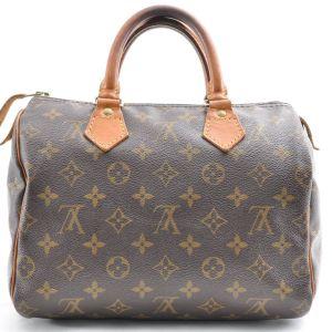 Louis Vuitton Monogram Speedy 25 Handbag