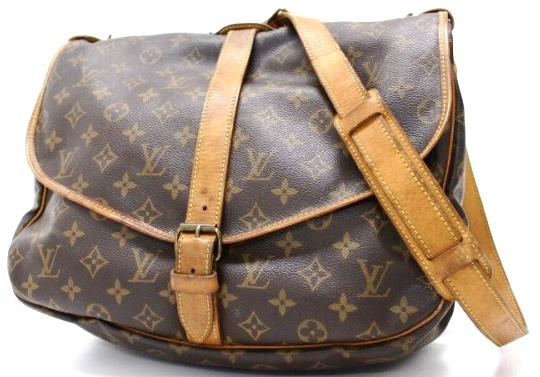 199dd9596d2e Louis Vuitton Saumur 35 Messenger Double Side Bag - Luxurylana ...
