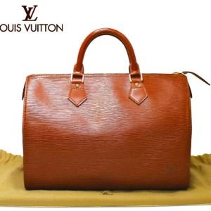 Louis Vuitton Speedy 30 Kenyan Epi Leather Handbag