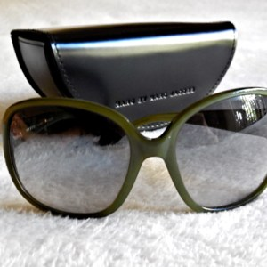 Marc Jacobs Green Oversized Sunglasses