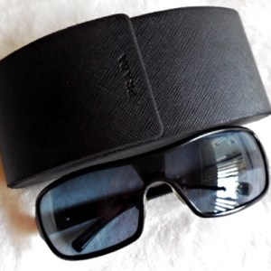 Prada Black Executive Aviator Sunglasses-1