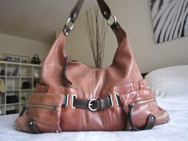 Tano Leather Hobo Bag