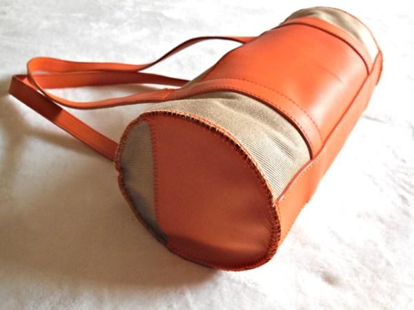 UGG Orange & Sand Papillon Handbag-2