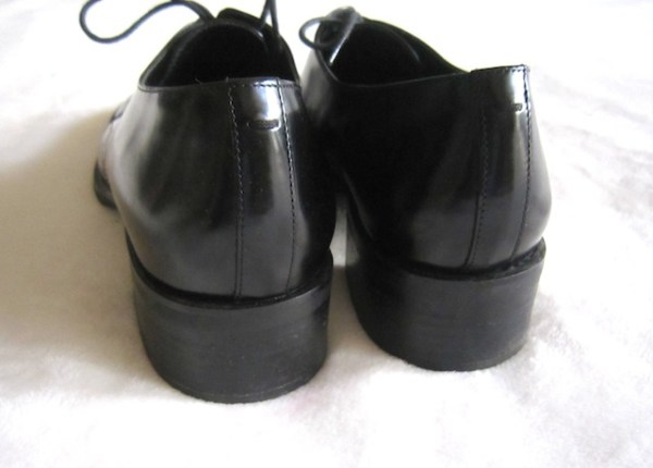 Via Spiga Men's Black Leather Oxford Shoes-1