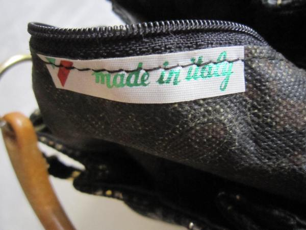 Vintage Fiona Black Shoulder Bag-6