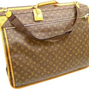 Vintage Louis Vuitton Garment Carry On Suitcase