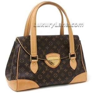 Louis Vuitton Monogram Beverly GM Handbag