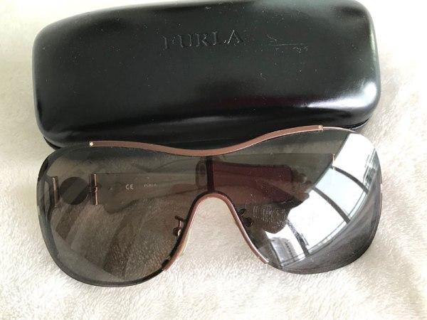 Furla Brown Charm Sunglasses