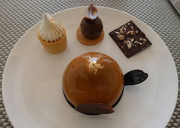 dessert at Le Blanc Spa Resort Cancun