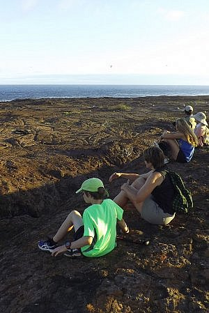 Galapagos Islands family vacation cruise